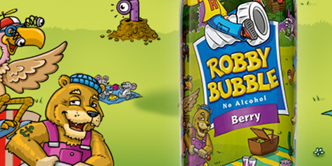 Eyecatcher: Robby Bubble Berry